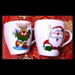 ROYAL NORFOLK CHRISTMAS MUGS